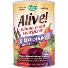 Nature's Way Alive® Soy Protein Ultra-Shake™ Vanilla -- 2.1 lbs