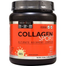 NeoCell Collagen Sport Ultimate Recovery Complex French Vanilla -- 1.49 lbs