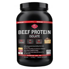 Olympian Labs Beef Protein Rich Dark Chocolate -- 1 lb