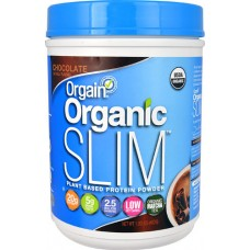 Orgain Organic SLIM™ Protein Powder Chocolate -- 1.02 lbs