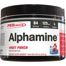 PEScience Alphamine™ Fruit Punch -- 8.59 oz