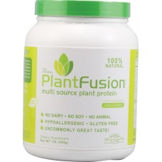 PlantFusion Multi Source Plant Protein Lightly Sweetened -- 1 lb