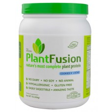 PlantFusion Plant Protein Cookies N' Creme -- 1 lb