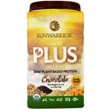 Sunwarrior Classic PLUS Protein Chocolate -- 35.2 oz