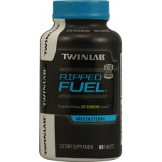 Twinlab Ripped Fuel® Extended Release Fat Burning Formula -- 60 Tablets