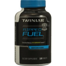 Twinlab Ripped Fuel® Extended Release Fat Burning Formula -- 120 Tablets