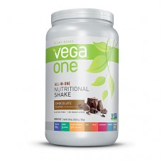 Vega One Plant-Based All-in-One Nutritional Powder Chocolate -- 30.9 oz
