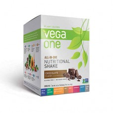 Vega One Plant-Based All-in-One Nutritional Powder Chocolate -- 10 Packets