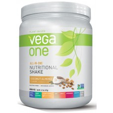 Vega One Plant-Based All-in-One Nutritional Powder Coconut Almond -- 14.7 oz