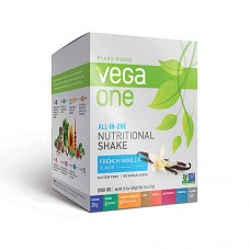 Vega One Plant-Based All-in-One Nutritional Powder French Vanilla -- 10 Packets