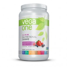 Vega One Plant-Based All-in-One Nutritional Powder Mixed Berry -- 30 oz