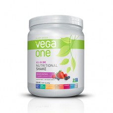 Vega One Plant-Based All-in-One Nutritional Powder Mixed Berry -- 15 oz