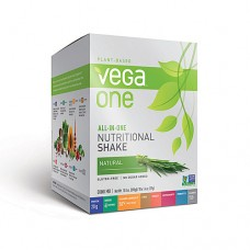 Vega One Plant-Based All-in-One Nutritional Powder Natural -- 10 Packets
