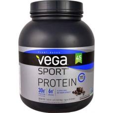 Vega Sport Plant-Based Protein Powder Chocolate -- 45 Servings