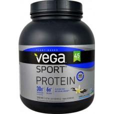 Vega Sport Plant-Based Protein Powder Vanilla -- 45 Servings