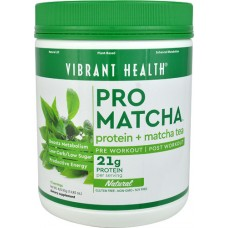 Vibrant Health Pro Matcha™ Protein Plus Matcha Tea Powder Natural -- 14.85 oz