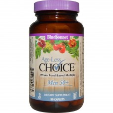 Bluebonnet Nutrition Age-Less Choice Whole Food Based Multiple Men 50+ - 90 Caplets