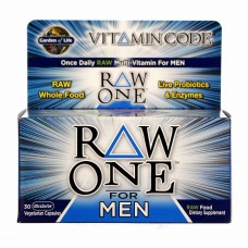 Garden of Life Vitamin Code RAW One for Men - 30 Vcapsules
