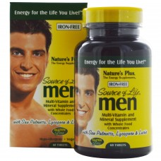 Nature's Plus Source of Life for Men Iron Free - 60 Tablets