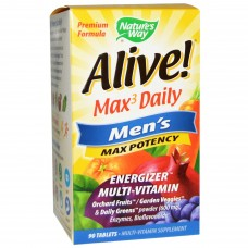 Nature's Way Alive! Men's Max Potency - 90 Tablets