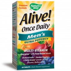 Nature's Way Alive! Once Daily Men's Ultra Potency - 60 Tablets