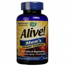Nature's Way Alive Men's Gummy Vitamins Fruit - 75 Gummies